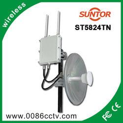 2.4G & 5.8Ghz high-speed mimo digital wireless video transmitter network bridge