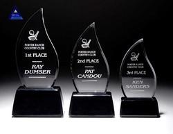 2015 Newest trophy design- -NO.1 Crystal Trophy Factory
