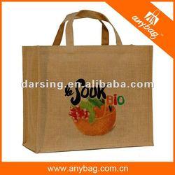 Popular jute shopping bag wholesale