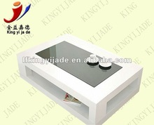2012 new design high glossy wooden table JY-10