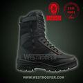 swat05 tática botas de couro
