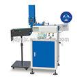 Logo vestuário cutter máquinas/cetim label máquina de corte jc-3080