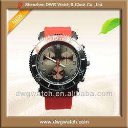 Quartz Sport Silicone Wristwatch 2012 for Men
