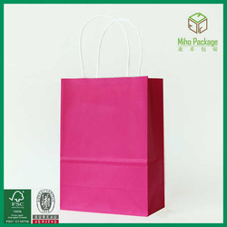 Recycled Ready for sell stocked paper bags wholesale