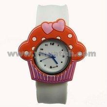Fashion Quartz Silicone Slap Jelly Wrist Watches