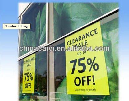 shop window decal