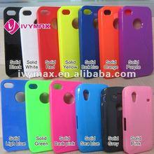 Hot 2013 TPU gel skin for iphone 4 case