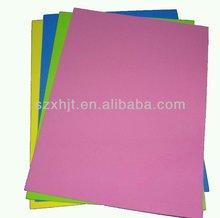 Colorful adhesive foam sheet for manual training