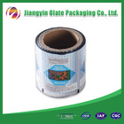 Biodegradable plastic bag material with film roll