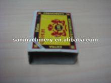 China Automatic Safety Match Outer Box Making Machine Equipment
