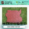 HOT!Irregular anti-abrasion outdoor Sideway/walkway/playground/Gym rubber flooring tiles/pavers/block rubber stones
