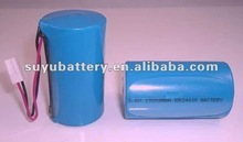 er34615 3.6V 19000mAh lisocl2 cylindrical lithium dry cell battery