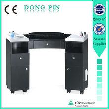 professional manicure table vacuum and nail salon furniture