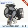 IR 44key rgb 12V led chase controller + led strip +led adaptor