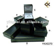 High quality leathereete paper jewelry box ring box bracelet box
