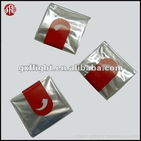 PET plastic transparency folded oven bag for roasting chicken turkey