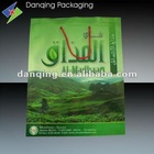 *New!Plastic Packaging Stand up pouch with zipper and rope/string*
