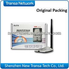High Power AlFA USB WiFi Adapter 2 & 5dbi antennas included