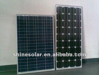 Polycrystalline Solar Panel with 80W Power, High-efficiency