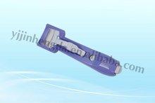 plastic easy handle eyelash curler