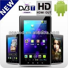 2012 hot tablet DVB-T for GPS