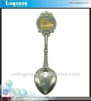 decoration logoson arts and crafts custom metal souvenir spoon ornaments