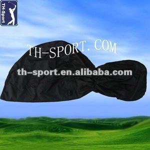 black golf rain cover complete waterproofed