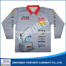 fishing t shirts for teams printing sublimation