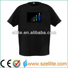 new arrival summer led equalizer t-shirt