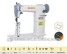 SR-810 Round Head Post Bed Single Needle Sewing Machine /shoe sewing machine