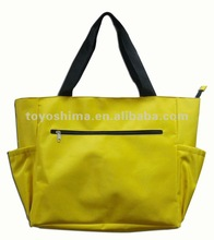 Polyester cheap large handbags, tote bag ladies