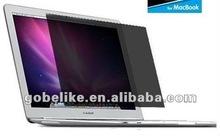 For 15.4 inch 30 degree Apple Macbook Pro matte privacy screen guard/screen protector