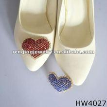 sparking high heel with rhinestone shoe buckle for high heels 2016