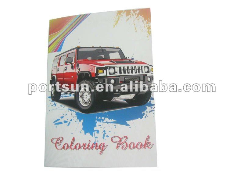 baby drawing book of car