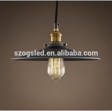vintage filament bulb sconce aged steel lamp/lights 110-130v 220-240v