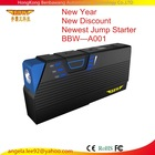 13600mAh No.1 Multi Function Car Battery Charger Jump Starter Mobile phone Power Bank Laptop External Rechargeable Battery