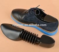 2015 hot sale plastic black shoe trees