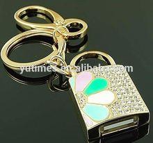 Free sample low price wholesale coded lock usb flash drive