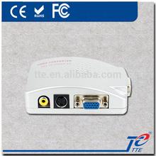 VGA to AV Converter for PC to TV