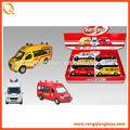 2014 mini juguetes diecast ambulancia coche de juguete de metal del coche modelo pb0731113988