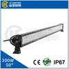 50inch 300W LED Light Bar, Wholesale Aluminum Housing 12V 24V Led Work Light Bar IP67 Waterproof 50inch For Offroad 4X4 Trucks