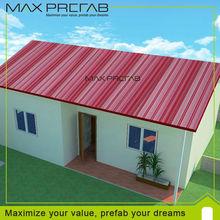 Luxury steel frame prefab villa for sale