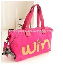 Casual retro canvas shoulder bag big bag handbag