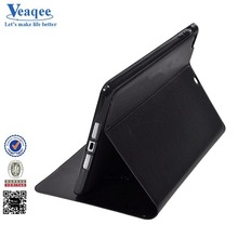 Veaqee new style stand ultra slim leather case for ipad air 2