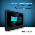 2014 Hot Wireless Intelligent GSM Alarm System with APP control and Touch screen,GSM Alarm System(YL-007M2E)
