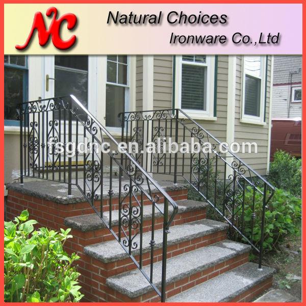 Klassieke outdoor smeedijzeren trap leuning balustrades en leuningen product id 60033079484 - Leuning smeedijzeren trap ...