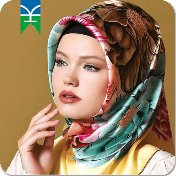 meilleur fournisseur alibaba 2015 fils teints en soie châle hijab musulman de soie populaire en turquie