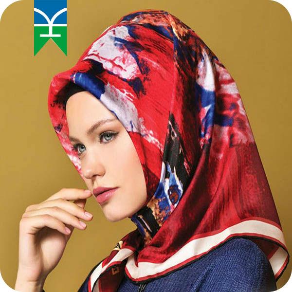 2015 alibaba meilleur fournisseur fils teints soie châle populaire en turquie de soie musulman Hijab