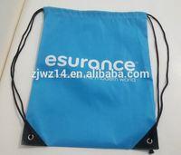 2015 cheap fashion custom polyester slazenger backpack bag