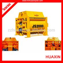 JS2000 Concrete Mixing Machine, Concrete Mixer, Huaxin Concrete Batching Machine